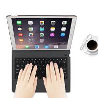 苹果iPad Pro 12.9英寸蓝牙键盘保护套2017苹果平板电脑2015年无线键盘皮套A1670 爵士黑【2015