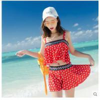 新款小胸钢托聚体韩版温泉bikini拢显瘦比基尼泳衣女性感分