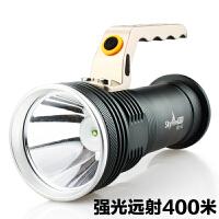 手提手电筒充电户外矿灯探照灯 强光 远射 狩猎氙气远程