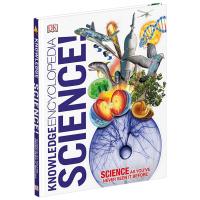 DK知识百科 科学 英文原版 Knowledge Encyclopedia Science 开创性新视觉方法科学 自然