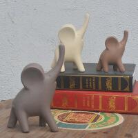 创意小象摆件 客厅电视柜酒柜工艺家居装饰品大象摆件 结婚礼物 三只小象