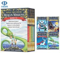 英文原版 Magic Tree House Merlin Mission 1-4 神奇树屋梅林的任务1-4册套装 进口图