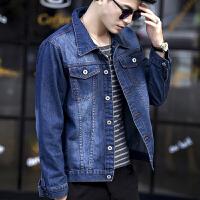 2018新款男士牛仔外套男韩版修身秋季宽松夹克学生上衣帅气潮流褂