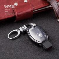 于奔驰C200l钥匙包GLA200GLC260GLEglk/C级E260扣S车钥匙套壳