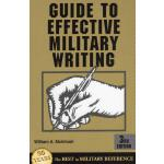 【预订】Guide to Effective Military Writing: 3rd Edition