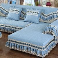 布艺沙发垫四季通用型防滑坐垫子欧式全包套沙发套沙发罩全盖
