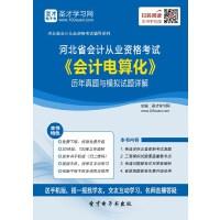河北省会计从业资格考试《会计电算化》历年真题与模拟试题详解-手机版(ID:128862).