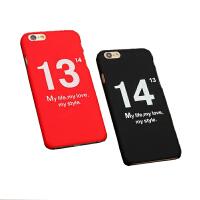 【包邮】苹果7plus手机壳iPhone7手机保护套情侣iphone6s磨砂硬壳iPhone6s plus手机壳苹果6