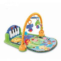 fisher price脚踏钢琴婴儿玩具宝宝健身架器游戏毯w2621 抖音