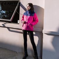 【金秋钜惠 每满100减30】AIRTEX亚特冲锋衣女士三合一 户外服装防水透气两件套保暖登山服