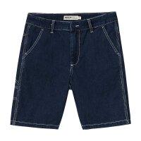 【1件2折到手价:25.2】美特斯邦威夏季男潮流基本撞色线装饰牛仔裤