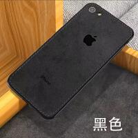 iPhone7plus手机壳8p超薄6s布纹苹果7新款6p硅胶软壳i7防摔男女潮 苹果6/6s黑色 4.7寸