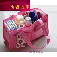 妈咪包内胆分格包大容量多功能妈妈包母婴用品待产收纳包隔层袋子 颜色随机发