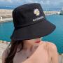 Coolmuch渔夫帽女士百搭休闲甜美可爱小雏菊夏季防晒遮阳盆帽CMMZ003