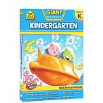 【4-6岁综合练习】School Zone Giant Workbooks Kindergarten 幼儿园练习册附答