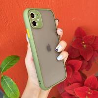橄榄绿适用苹果11手机壳女11promax防摔iPhonex全包镜头iPhone全覆盖摄像头11pro硅胶x/xs/X