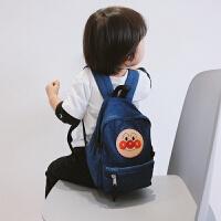 双肩防滑肩儿童男童迷你宝宝可爱面包超人女童幼儿园小书包潮