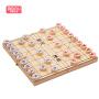 木妈妈 中国象棋套装实木家用大号折叠棋盘学生比赛 折叠象棋