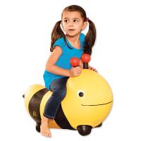 美国B.Toys儿童跳跳马宝宝坐骑玩具充气小马玩具马骑骑马加大加厚