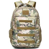 狼石户外军迷用品迷彩包双肩背包特种兵战术作战包45L旅行登山包