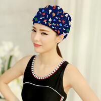 游泳帽女士加大长发护耳舒适时尚新款 温泉 帽 游泳装备