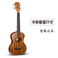 23寸尤克里里21寸乌克丽丽26uklele小吉他初学女生礼物a117