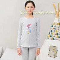 女童秋衣秋裤儿童12-15岁女孩中大童保暖内衣套装棉毛衫