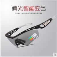 时尚眼镜户外偏光变色男女户外跑步运动山地自行车防风太阳镜骑行眼镜