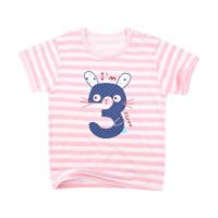 宝宝t恤短袖夏季婴儿棉上衣男宝宝儿童短袖打底衫春装半袖女童
