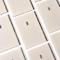 【4本包邮】晨光A+科目本16k英语笔记本文具作业本学生用韩国分栏本简约本子大号