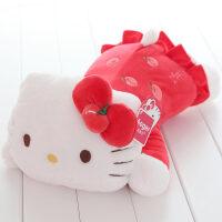 毛绒玩具凯蒂猫抱枕正版hellokitty公仔kt猫布娃娃生日礼物送女友