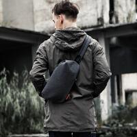胸包男士包包斜挎包男单肩学生多功能休闲运动潮牌青年韩版小背包