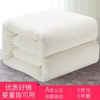 棉花被新疆手工棉絮棉花被芯垫被单人床垫被子棉胎被褥子春秋冬被