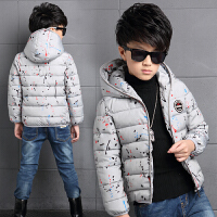 童装男童棉衣2017新款儿童冬季棉袄中大童短款轻薄款外套