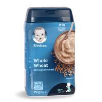 美国gerber嘉宝 2段全麦米粉 宝宝 婴幼儿辅食米糊 6个月+ 227g