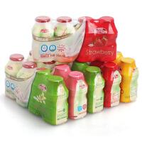 美国JelleyBrown界界乐缤纷口味乳酸菌饮品水果饮料宝宝饮品6件套