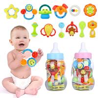 大奶瓶宝宝手摇铃套装 新生儿手摇铃组合 婴儿玩具 0-1岁