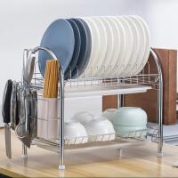 碗筷厨房沥水收纳架碗架尺寸简易碗碟架小号小型滴水溧水沥水篮碗