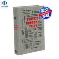 【预售英文原版】经典恐怖故事 Word Cloud Classics Classic Horror Tales 纳撒尼尔