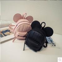 休闲百搭可爱新款韩版潮流卡通米奇双肩包女迷你背包夏季包小包包