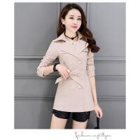 女士风衣2018新款韩版大码显瘦春秋短款外套小个子气质修身女装潮