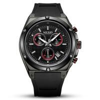 男士手表 新款男士手表时尚多功能运动硅胶手表男