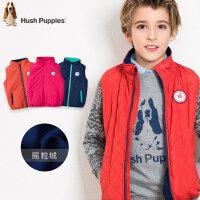 【3件3折:119元】暇步士童装新款冬装男女童棉马甲中大童上装儿童时尚薄款棉马夹