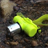 Q5T6潜水充电头灯光水下防水潜水手电筒白光黄光L2照明