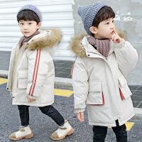 №【2019新款】冬天儿童穿的童装男童羽绒冬装加厚外套韩版面包服儿童棉衣中长款
