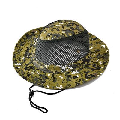 户外帽子男夏天迷彩帽渔夫帽遮阳帽休闲太阳帽登山钓鱼帽xx  M(56-58cm) 发货周期:一般在付款后2-90天左右发货,具体发货时间请以与客服协商的时间为准