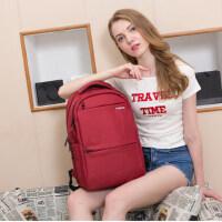 泰格奴防时尚潮流盗双肩包女韩版高中学生书包电脑包商务旅行背包