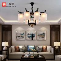 新中式吊灯客厅灯餐厅会议灯酒店图书馆灯具MD23