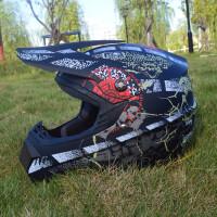 四季摩托车越野头盔山地自行车dh CQR速降冲山am儿童轻越野盔ATV