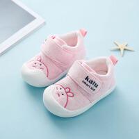 0-1-2岁婴幼儿软底鞋男宝宝鞋子学步鞋女宝宝春季透气棉布鞋